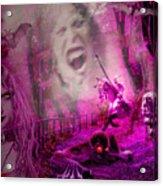 Halloween Landscape Acrylic Print