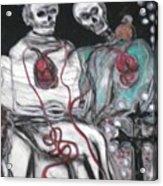 Halloween Love Acrylic Print