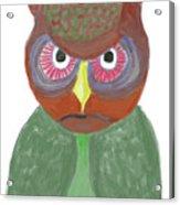 Halloween Owl Acrylic Print