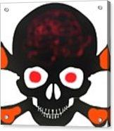 Halloween Skull Acrylic Print
