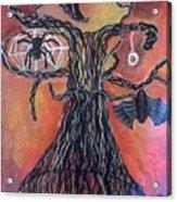 Halloween Tree Acrylic Print
