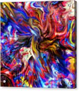 Halos And Passions. Acrylic Print