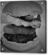 Hamburger And Potato Salad 4 Acrylic Print