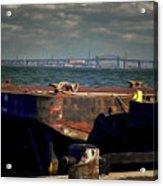 Hamilton Harbor- Pier 8 Acrylic Print