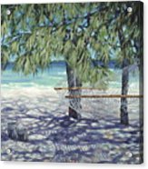 Hammock For Two Acrylic Print by Danielle  Perry