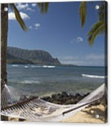 hammock in Paradise Acrylic Print