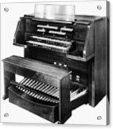 Hammond Organ 1960s Acrylic Print
