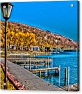 Hammondsport Waterfront Acrylic Print