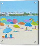 Hampton Beach And Boars Head Acrylic Print