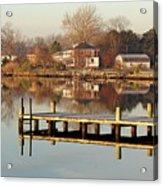 Hampton Virginia Sunrise Acrylic Print