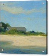 Hamptons Beach House Acrylic Print