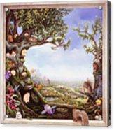 Hamster Tree Window Acrylic Print