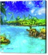 Hana Maui Acrylic Print