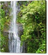Hana Waterfall Acrylic Print