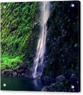 Hanakoa Falls  Acrylic Print