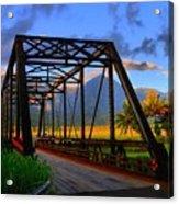 Hanalei Bridge Acrylic Print