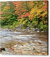Hancock Branch - White Mountains New Hampshire  Acrylic Print
