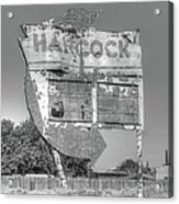 Hancock Gas Sign Acrylic Print