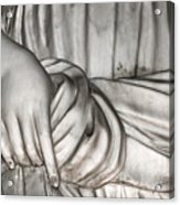 Hand And Robe Acrylic Print