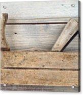 Hand Tool - Old Wood Planer Acrylic Print
