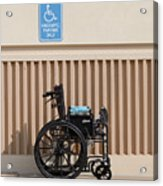 Handicapped Parking Acrylic Print