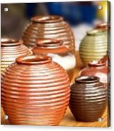 Handmade Pottery Acrylic Print