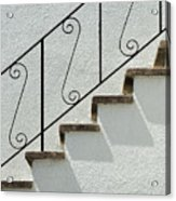 Handrail And Steps 1 Acrylic Print