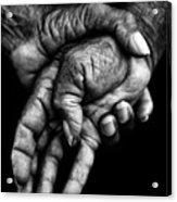 Hands Acrylic Print