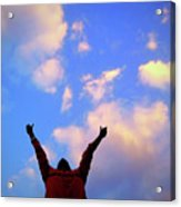 Hands In The Air Acrylic Print