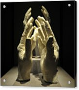 Hands Of Apollo Acrylic Print by David Lee Thompson
