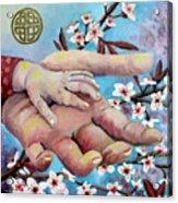 Hands Of Love Acrylic Print