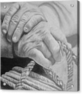Hands Of The Master Acrylic Print