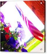Hanging Beauty 2 Acrylic Print