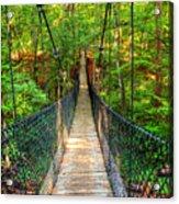 Hanging Bridge Acrylic Print