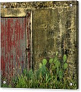 Hanging By A Hinge Acrylic Print