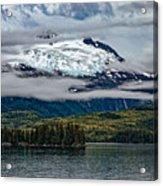 Hanging Glacier Acrylic Print