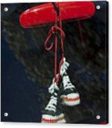 Hanging Hightops Acrylic Print