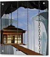 Hanging House Acrylic Print