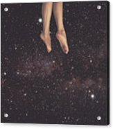 Hanging In Space Acrylic Print