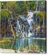 Hanging Lake  Acrylic Print