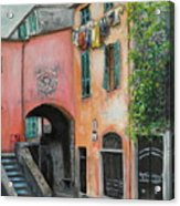 Hanging Out In Monterosso Al Mare Acrylic Print