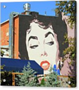 Hanging Out With Elizabeth Taylor Acrylic Print
