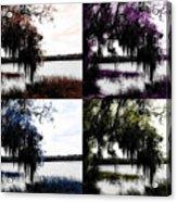 Hanging Over The Marsh Acrylic Print