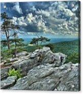 Hanging Rock Overlook Acrylic Print
