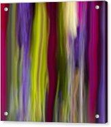 Hanging Sheets Acrylic Print