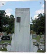 Hank Williams Sr. Headstone Acrylic Print