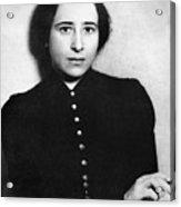 Hannah Arendt (1906-1975) Acrylic Print