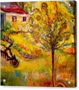 Hannah's Magical Wish Granting Tree Acrylic Print