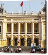 Hanoi Opera House 01 Acrylic Print