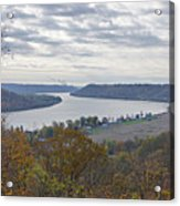 Hanover College View Acrylic Print